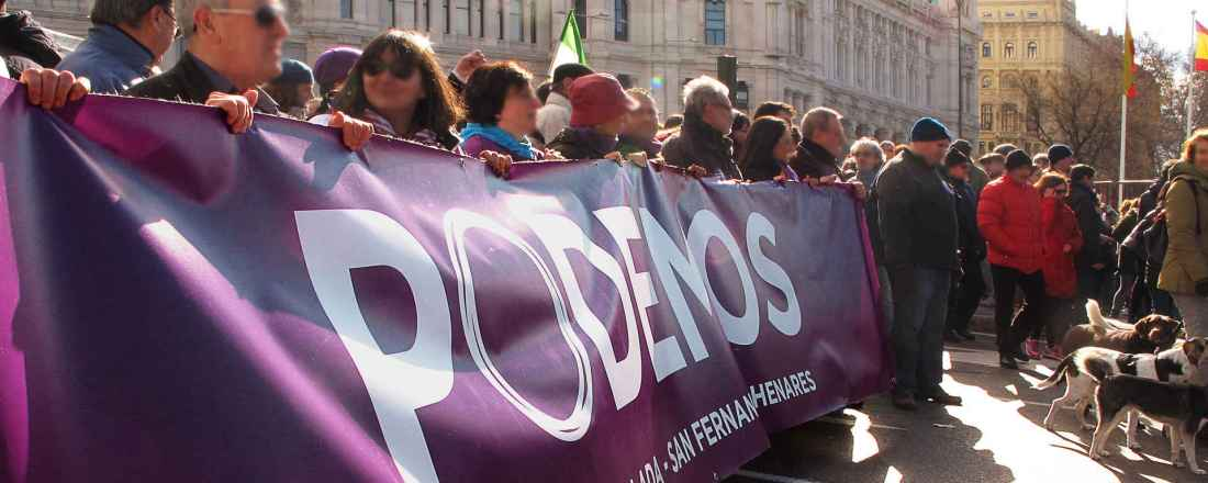 Podemos hat die politische Landschaft in Spanien nachhaltig verändert.