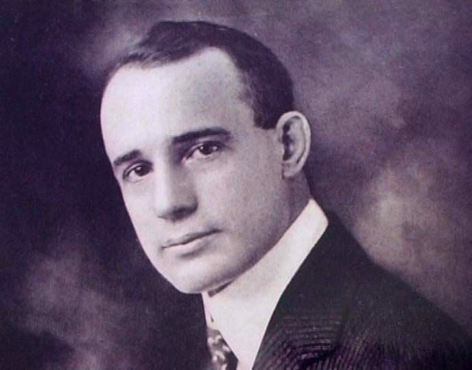 American self-help writer Napoleon Hill - (1883-1970) - No known copyright restriction
