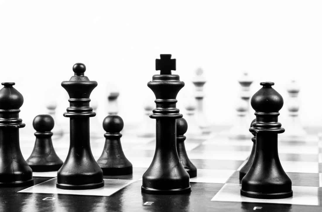 Das Schachbrett war die Heimat von Viktor Kortschnoi.
