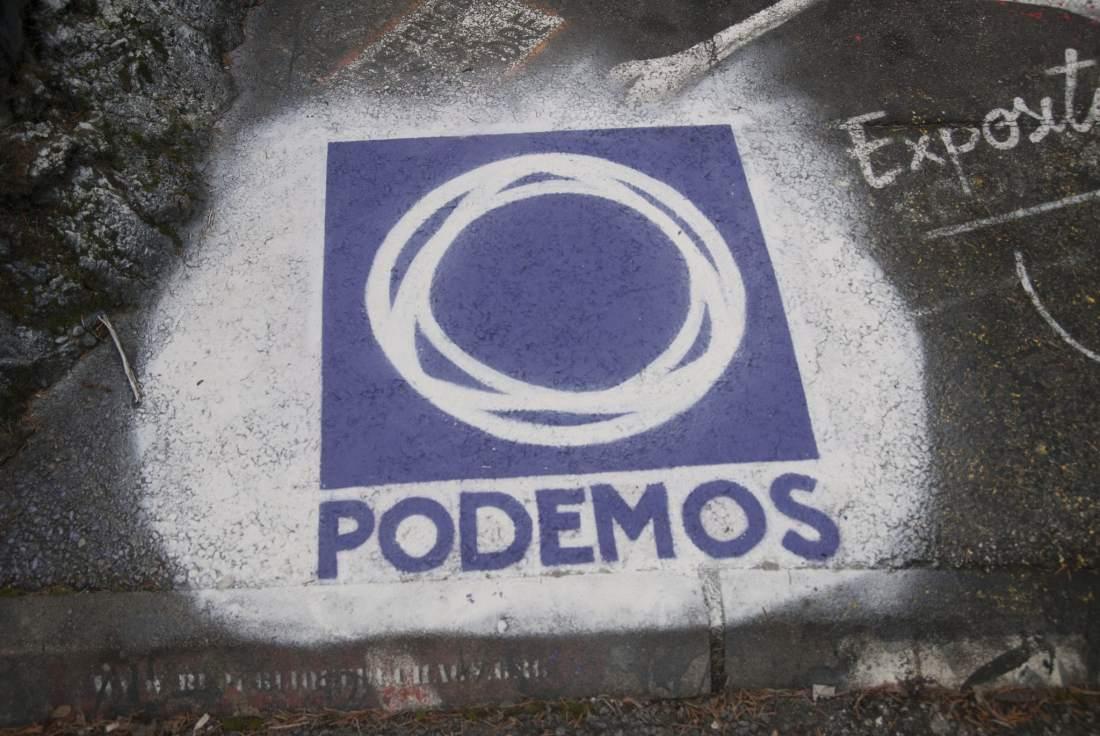 Podemos konnte sich in der spanischen Politik festsetzen.