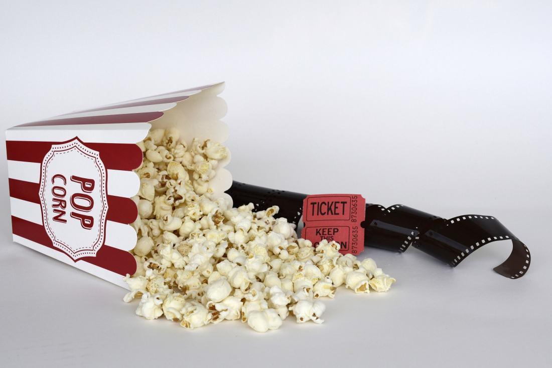 Zu seichtem Entertainment gehört fettiges Popcorn.