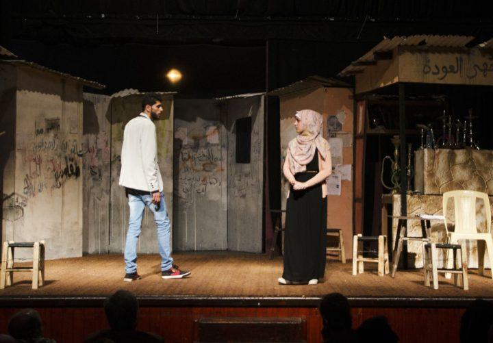 Shakespeare-Aufführung in Gaza 01
