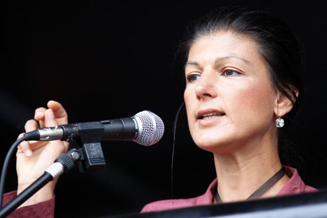 Sahra Wagenknecht und der Mut zum Widerstand