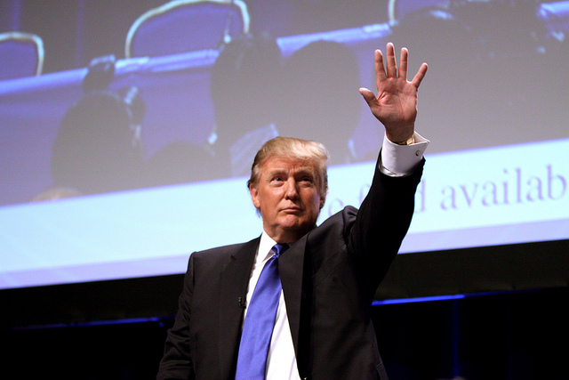 Donald Trump setzte sich entgegen aller Prognosen bei der Präsidentenwahl durch.