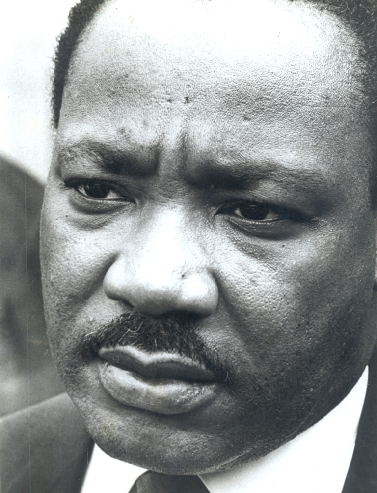 Martin Luther King wurde 1968 ermordet.