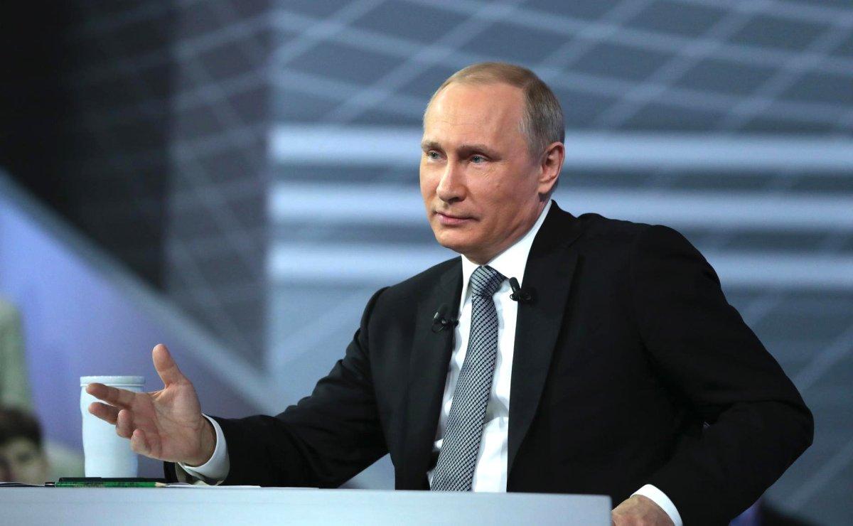 Vladimir Putin ist seit 2012 Präsident der Russischen Föderation.