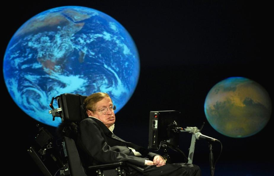 Der britische Astrophysiker Stephen Hawking vertritt die These, dass sich das Universum allein durch das Gesetz der Schwerkraft spontan selbst aus dem Nichts geschaffen hat.