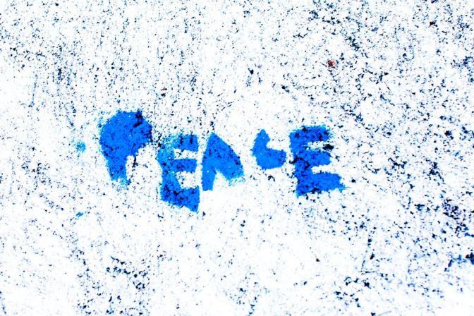 Foto Peace von Thomas Hawk - flickr.com - CC BY-NC 2.0