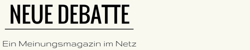 Text Logo Neue Debatte 500 x 100 links