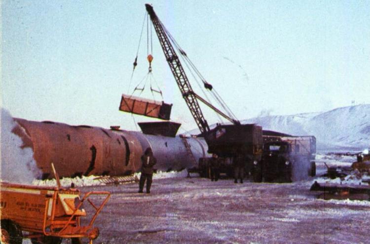 Dekontaminierungsarbeiten im Eis von Grönland. (Foto: US Air Force / Gemeinfrei)