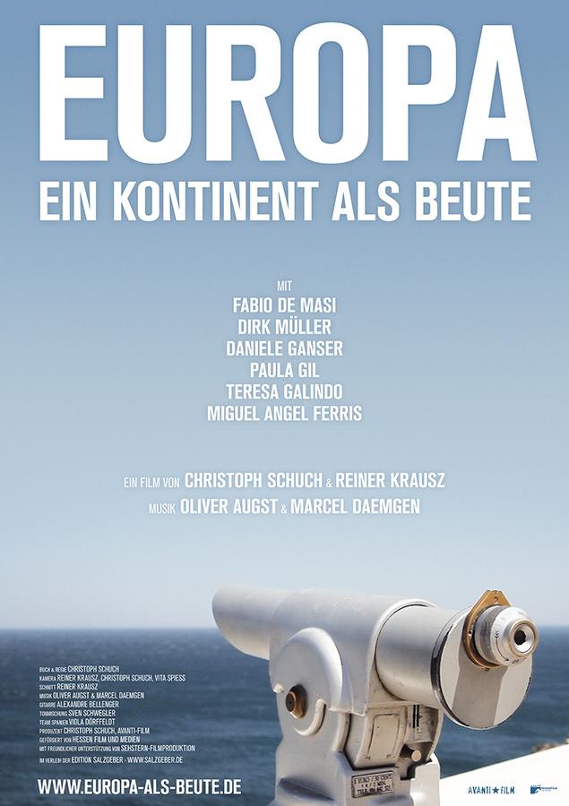 Europa - Ein Kontinent als Beute - Kinoplakat - Salzgeber & Co. Medien GmbH