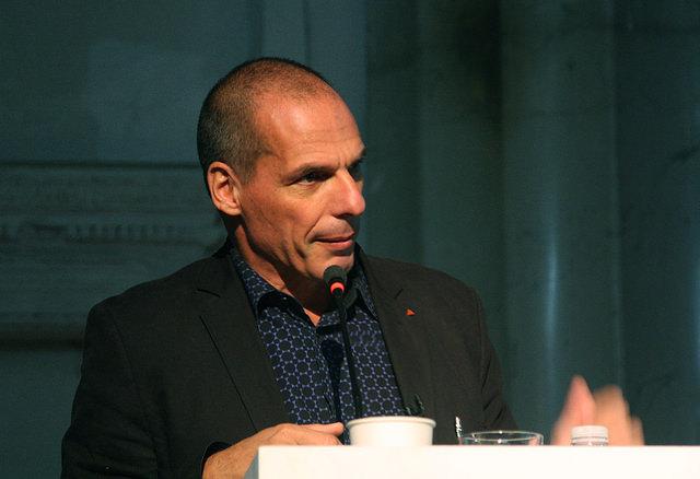 Yanis Varoufakis. Ehemaliger Finanzminister von Griechenland. Foto von Valerij Ledenev. flickr.com. CC BY-SA 2.0