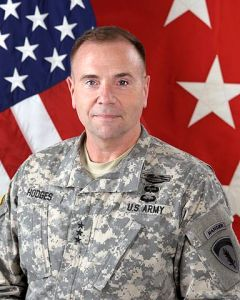 Frederick Benjamin Hodges ist Commanding General der US Army Europe.
