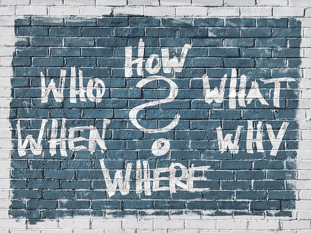 Philosophie bedeutet Fragen stellen. Geralt - (Pixabay.com) – Creative Commons CC0
