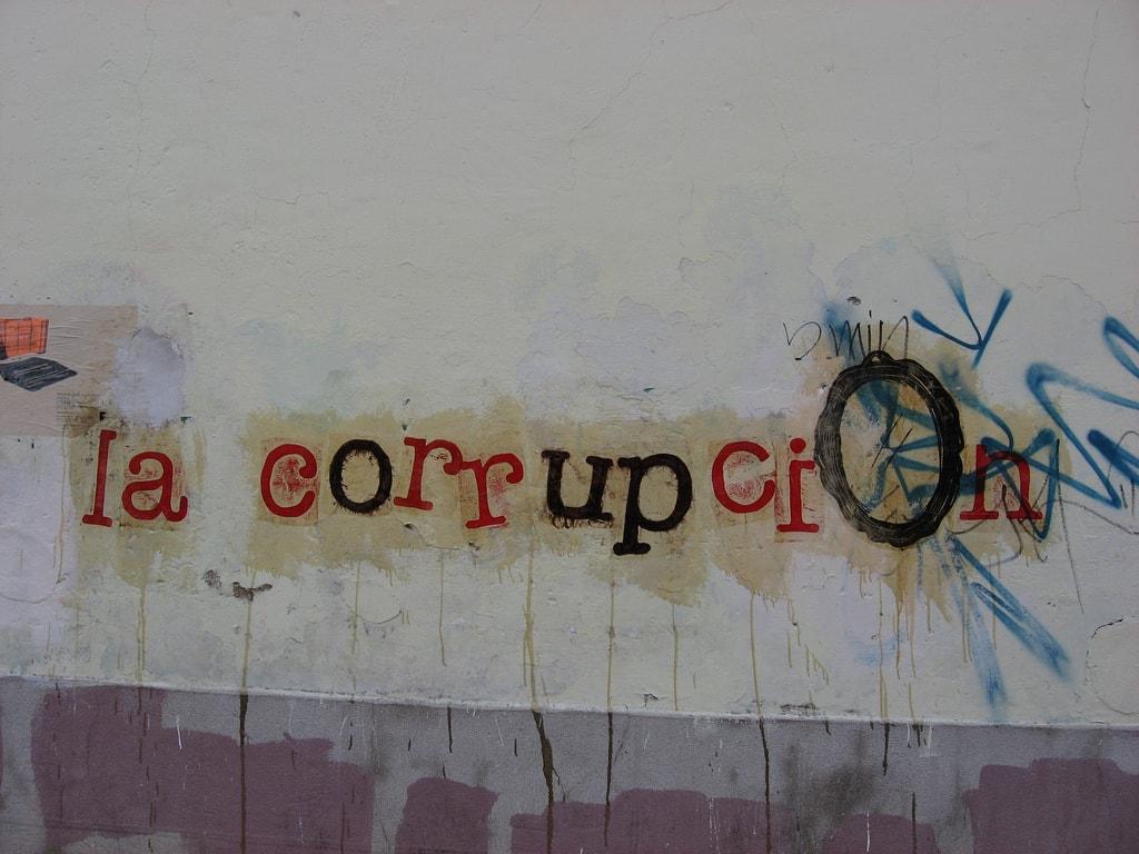 Korruption ist ein Problem nicht nur in Spanien.