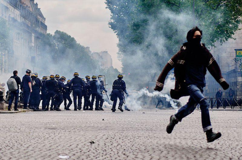 Cyrille Choupas Gazette Debout Frankreich Medien und Gewalt