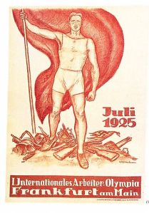 Die I. Internationale Arbeiterolympia fand 1925 in Frankfurt am Main statt.