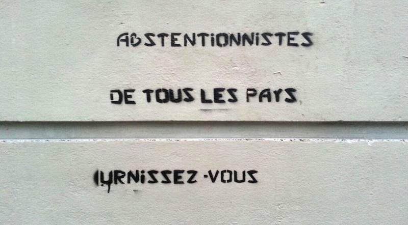 Gazette Debout über Nichtwähler in Frankreich