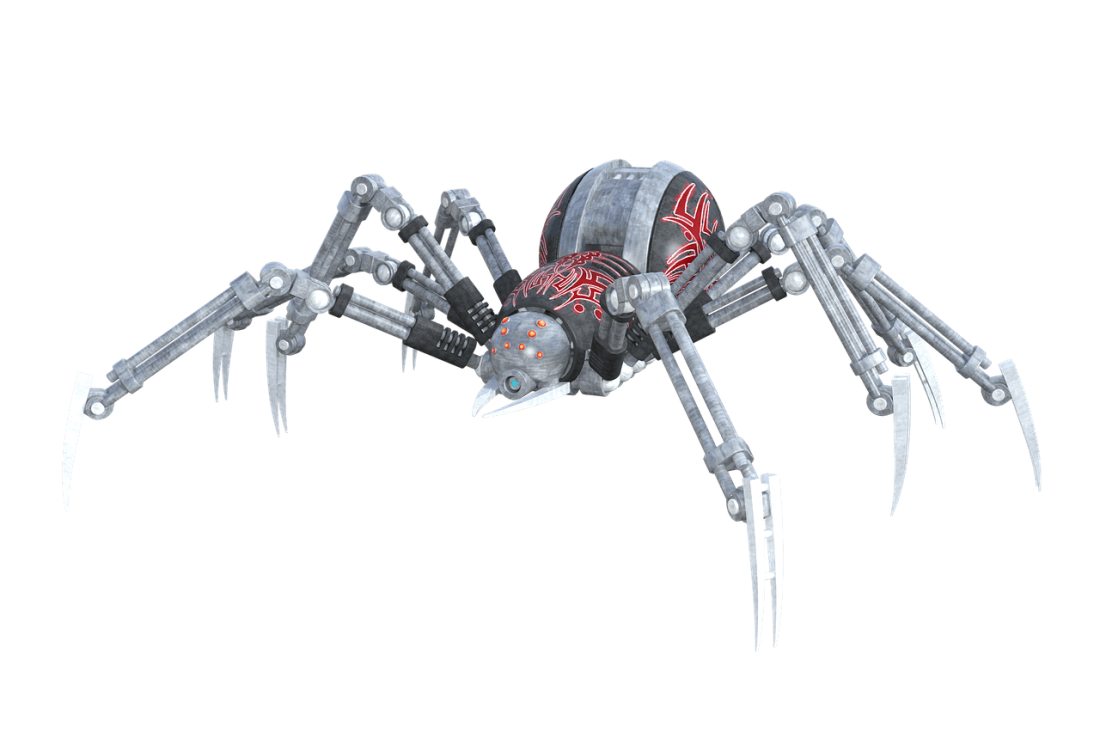 Robotik - Spinne - Pete Linforth (pixabay.com) - Creative Commons CC0