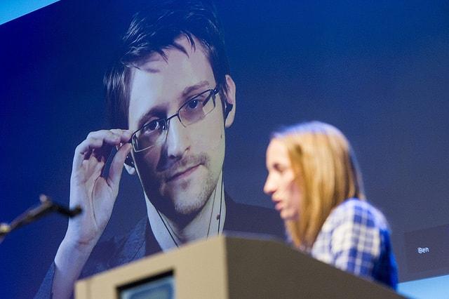 Edward Joseph Snowden (Aufnahme von Nordiske Mediedager (flickr.com) - CC BY-SA 2.0