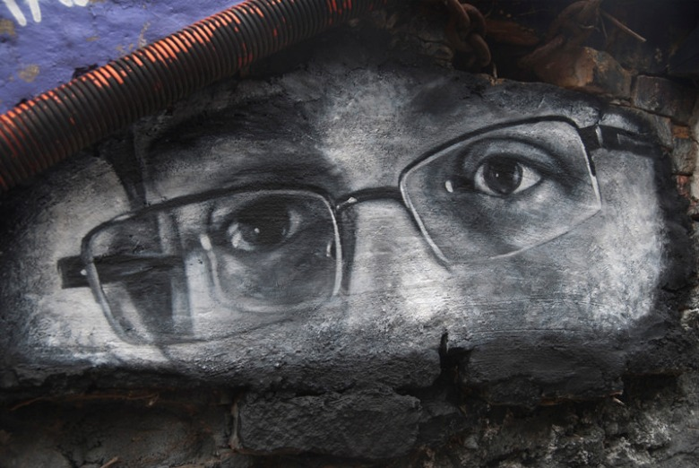 Edward Joseph Snowden Eyes - Thierry Ehrmann - flickr - CC BY 2.0