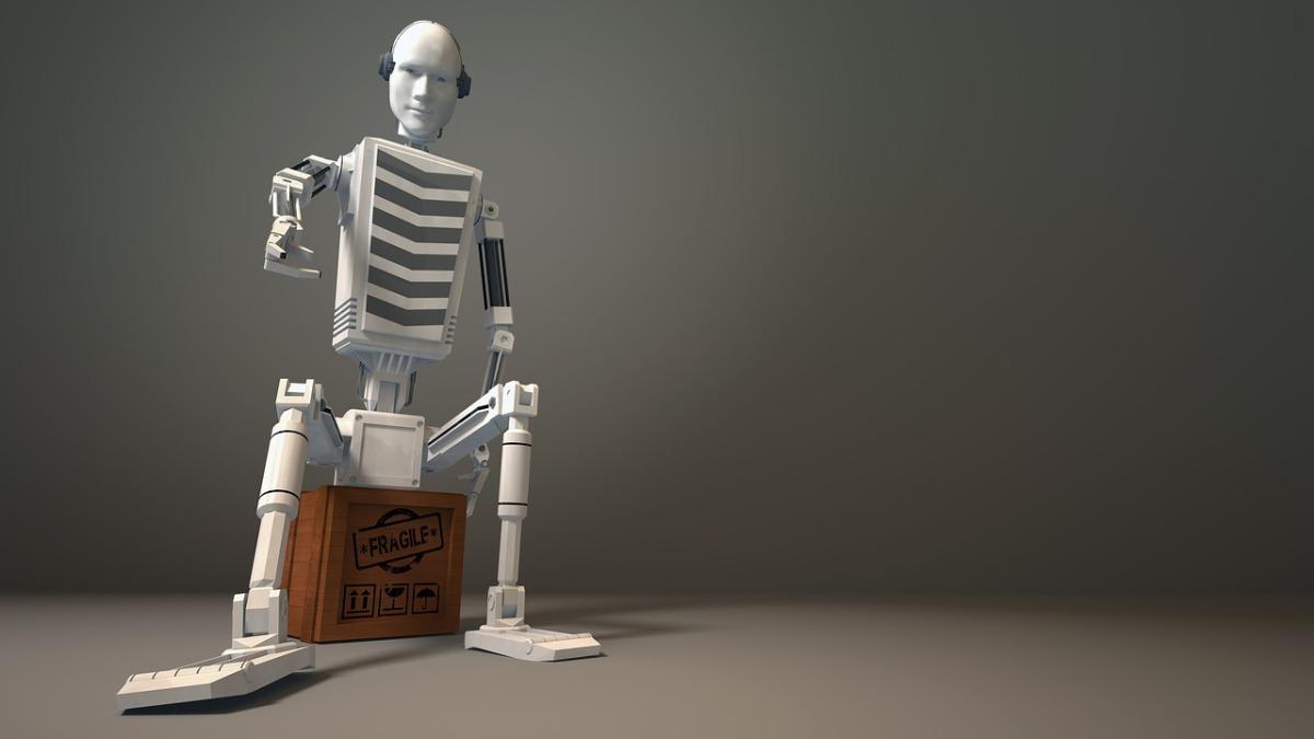 Roboter von Amigos3D; Pixabay; Creative Commons CC0