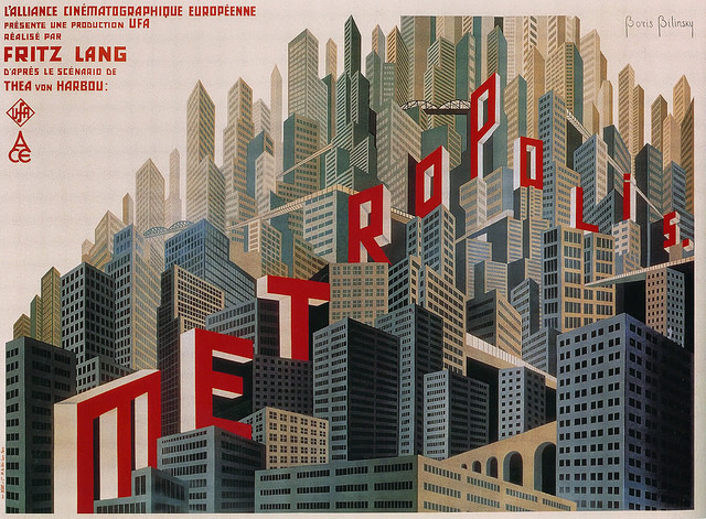 Metropolis - Breve Storia del Cinema; flickr.com; Public Domain Mark 1.0