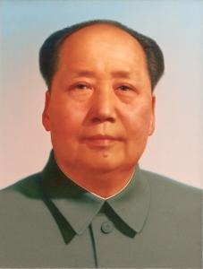 Mao Portrait von Zhang Zhenshi aufgenommen von Richard Fischer;CC BY 2.0