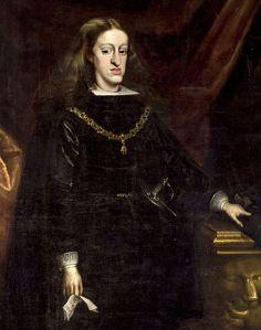 Portrait von Karl II. von Spanien des Malers Juan Carreño de Miranda