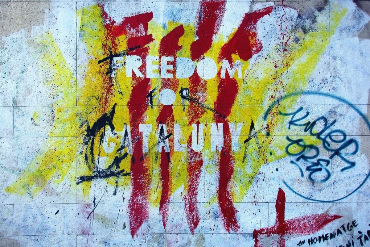 Freedom Catalunya als Graffiti Strret Art.