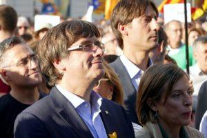 Kataloniens Präsident Carles Puigdemont. Foto Krystyna Schreiber