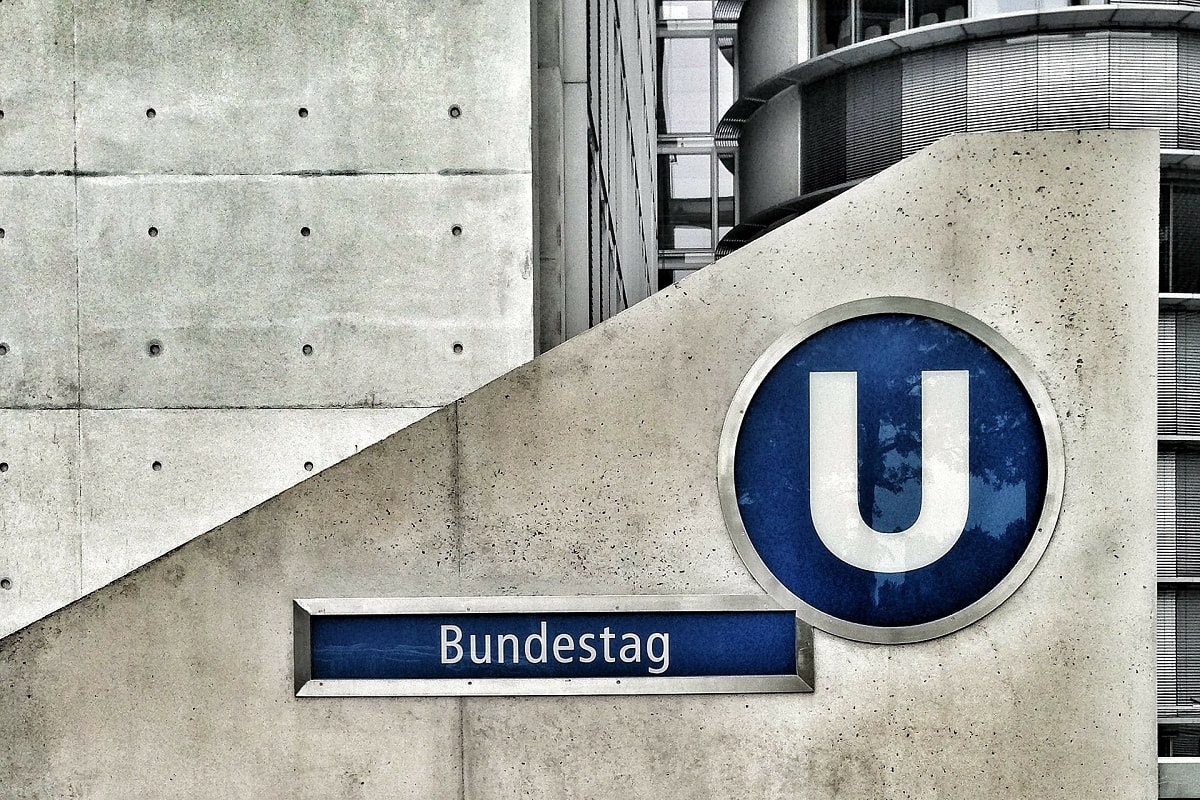 U-Bahn Bundestag. (Foto: Lobo Studio Hamburg; Thomas Ulrich; Pixabay.com; LizenzCreative Commons CC0)