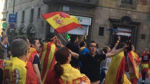 Nationalisten sehen die Einheit Spaniens bedoht. (Foto: Krystyna Schreiber)