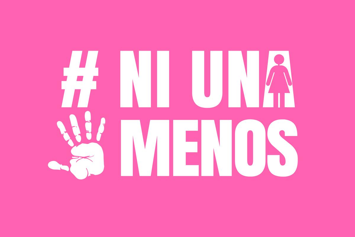 #NiUnaMenos (Grafik: Neue Debatte)