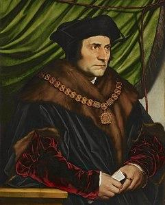 Thomas Morus als Lordkanzler. (Darstellung: Hans Holbein der Jüngere, 1527, Gemeinfrei)