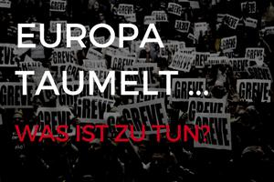 Europa taumelt Neue Debatte Publikation