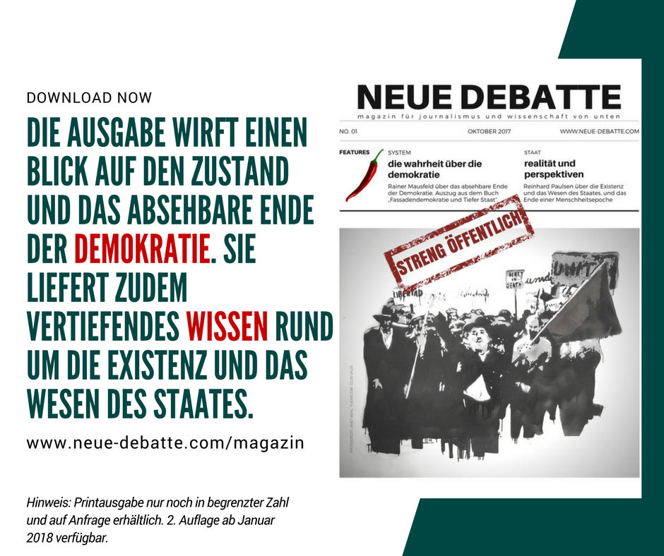 Neue Debatte Magazin Ausgabe No 01 FB Download Reminder Green