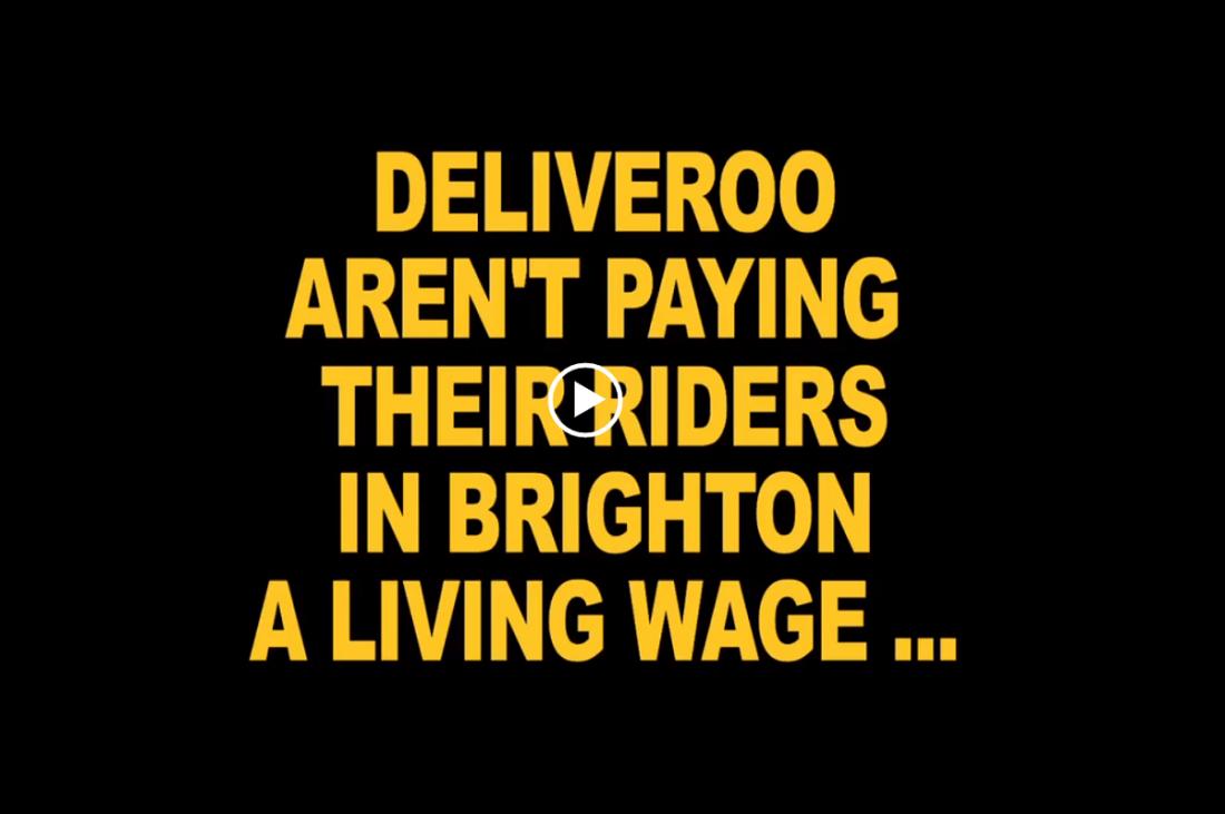 Deliveroo Brighton (Foto: Labournet.tv)