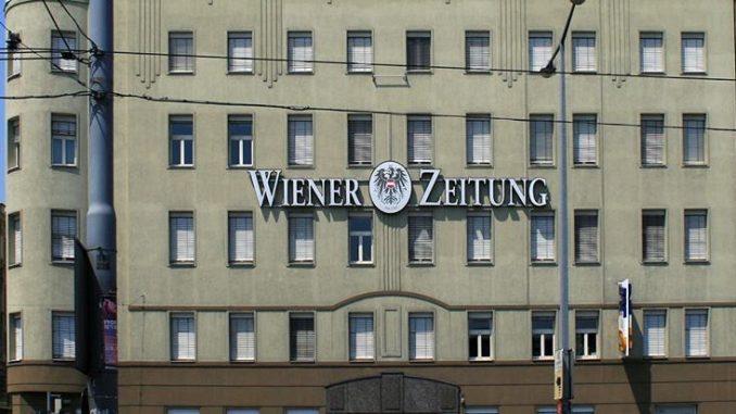Redaktionsgebäude der Wiener Zeitung bis August 2012, Wiedner Gürtel 10. (Foto: Manfred Werner/Tsui; Lizenz:CC BY-SA 3.0)