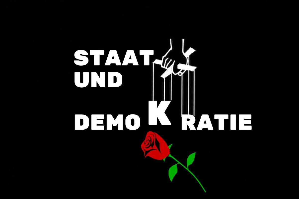 Staat und Demokratie in der Hand von Oligarchen. (Grafik: Neue Debatte)