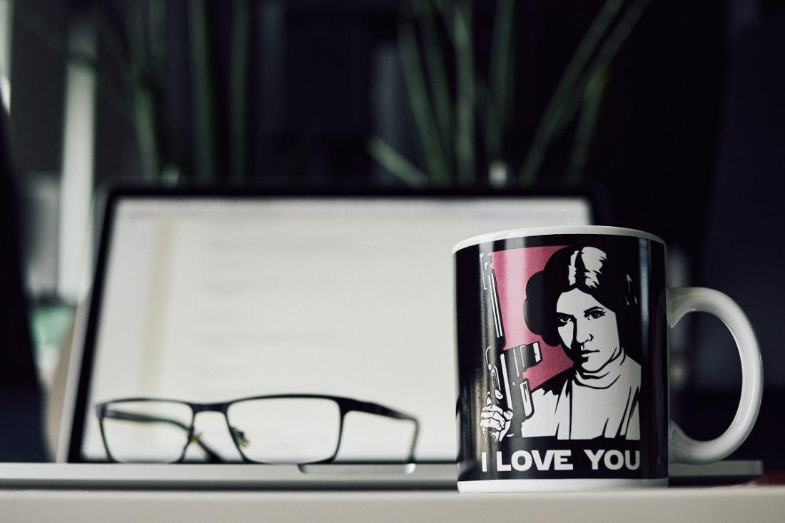 Star Wars, I Love You. (Foto: Radovan, Unsplash.com)