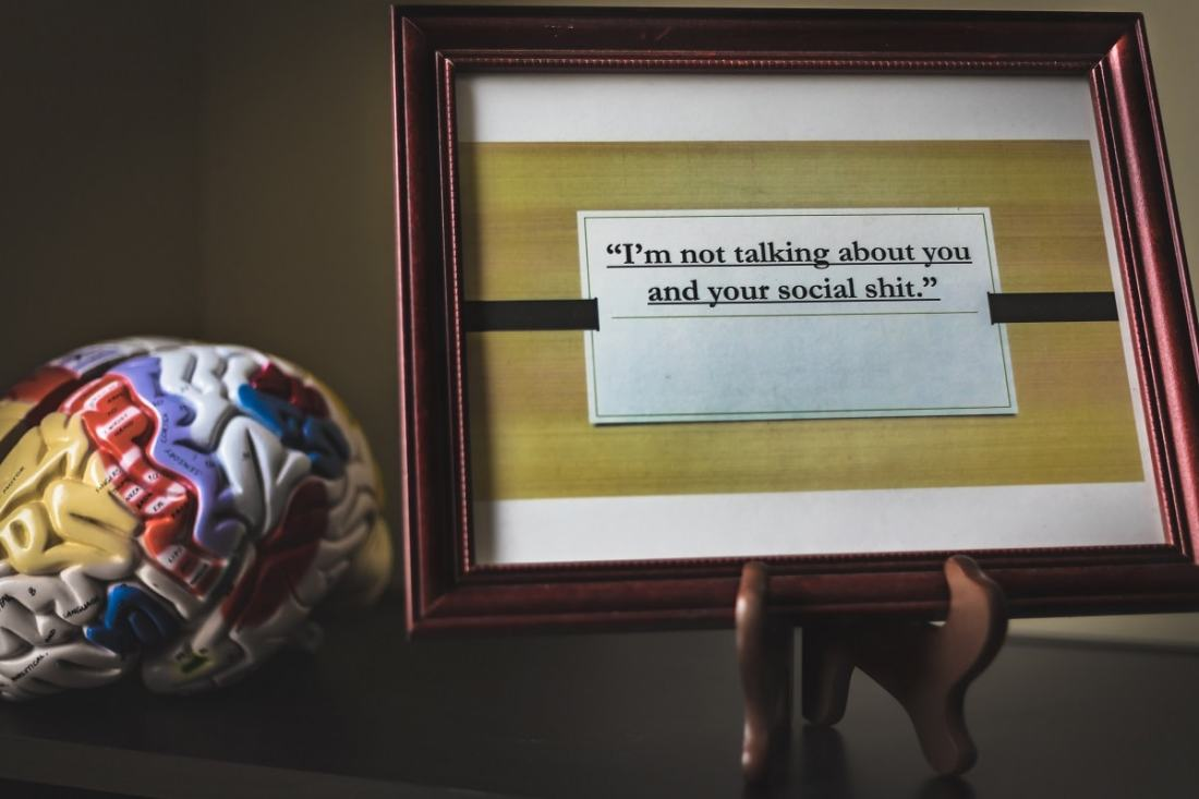 I'm not talking about you. (Foto: Ryan Rush, Unsplash.com)