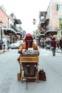 Poet zu mieten in New Orleans, USA. (Foto: Matthew LeJune, Unsplash.com)