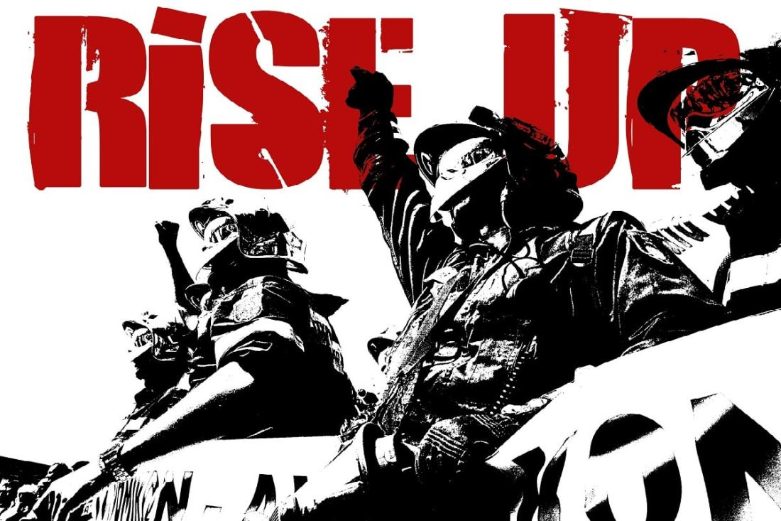Rise Up. Empöre dich. (Foto: Teacher Dude, Flickr.com, CC BY-SA 2.0)