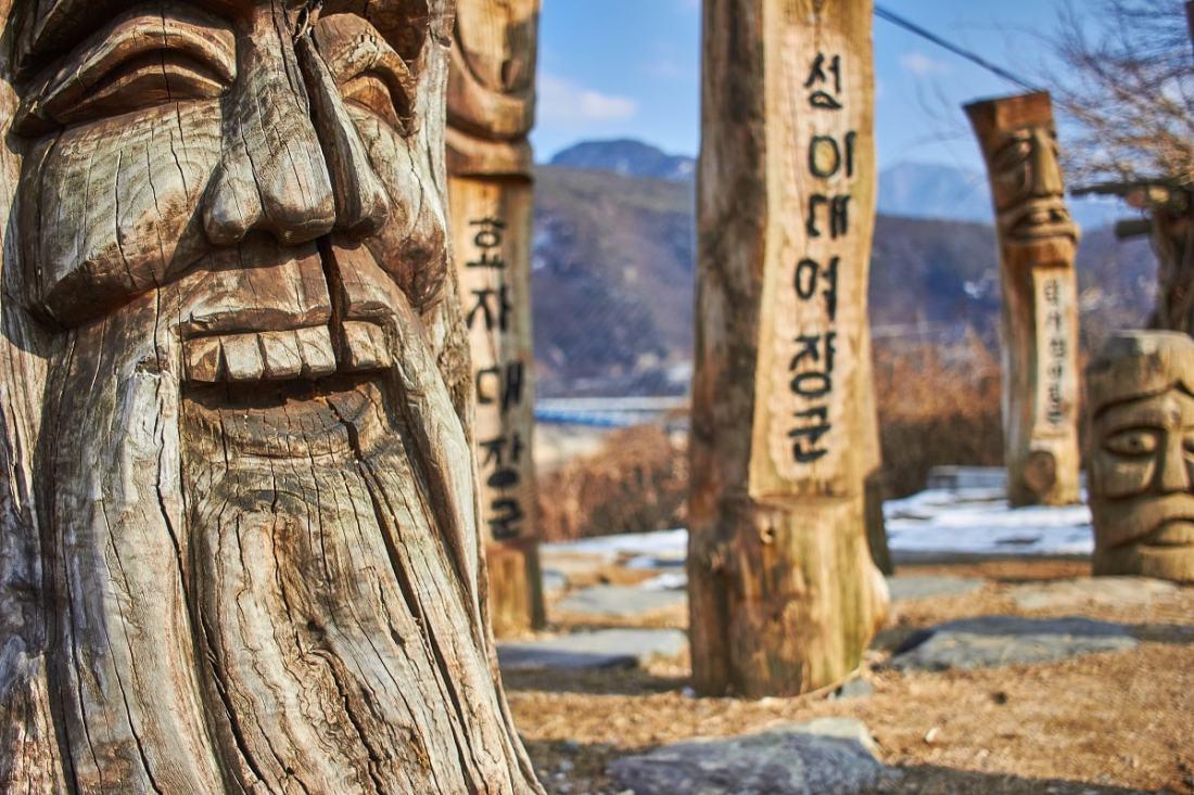 Cheongpung-myeon, Jecheon-si, South Korea. (Foto: Mathew Schwartz, Unsplash.com)