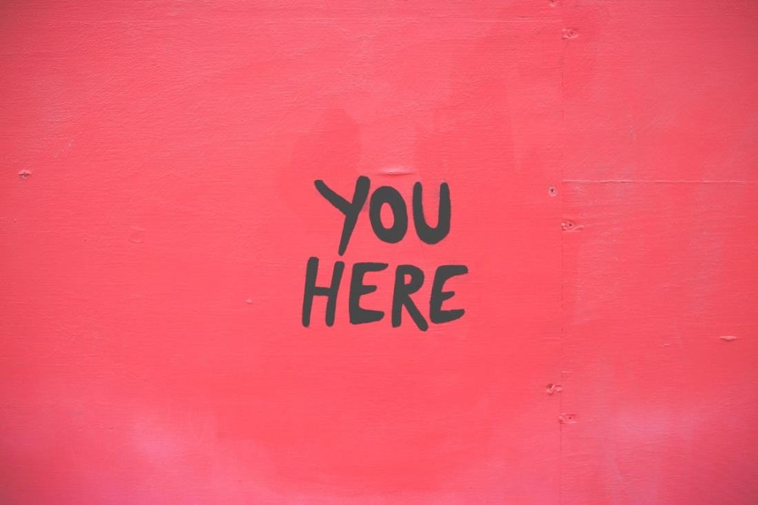 You here. (Foto: Marion Michele, Unsplash.com)