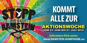 Stopp Ramstein 2018 (Grafik: Ramstein Kampagne)