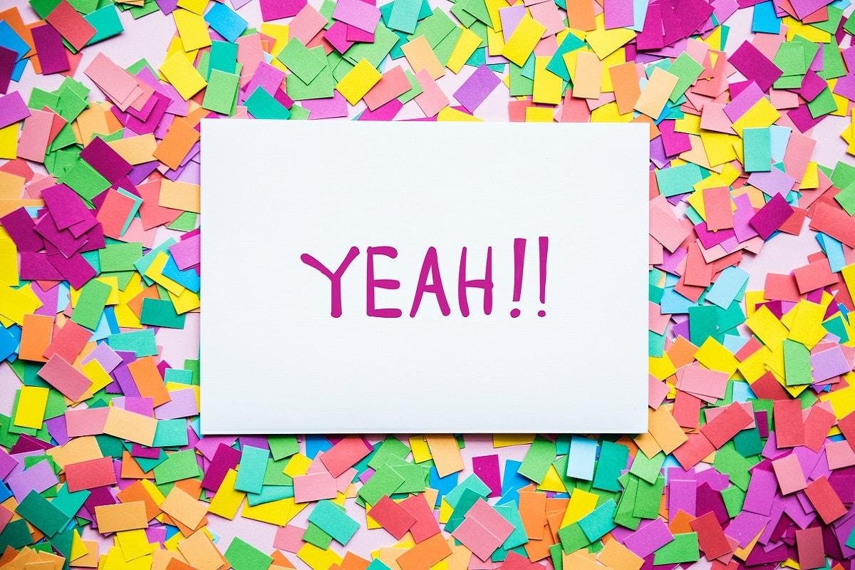 Confettie und Yeah. (Foto: Rawpixel, Unsplash.com)