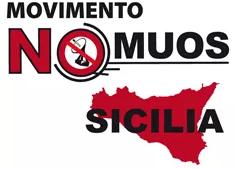 Die AntikriegsbewegungNo M.U.O.S.in Sizilien. (Foto: Pressenza)