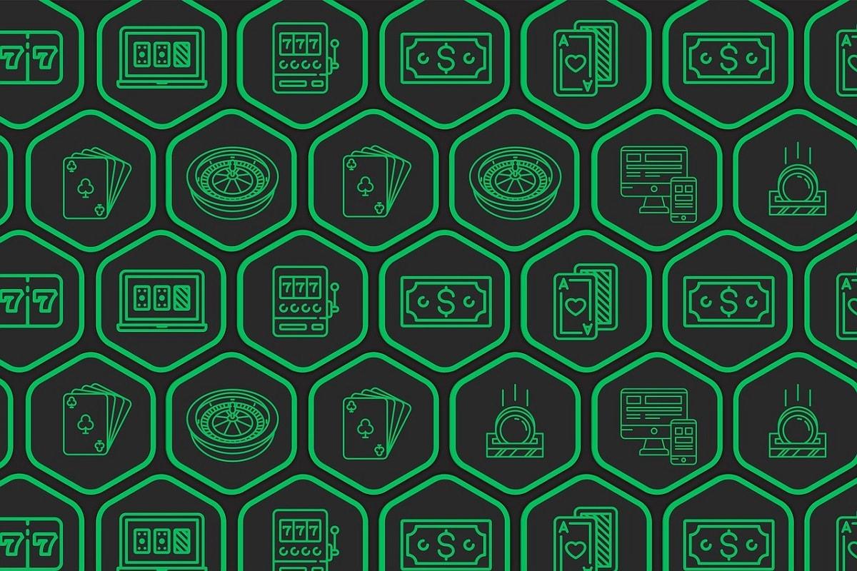 Gambling und Casino Games. (Illustration: Johanna Miller, Pixabay.com,Creative Commons CC0)